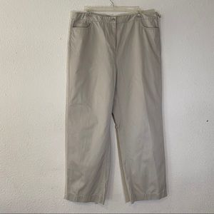 Eileen Fisher Long Pants In Beige SZ 1X